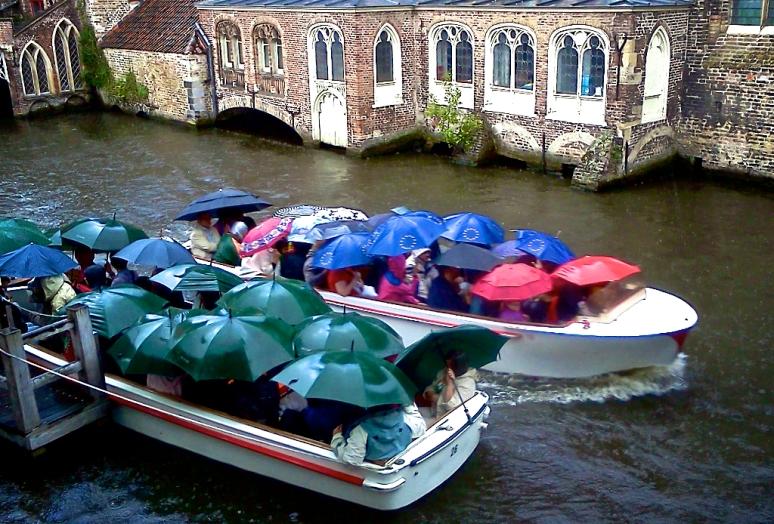 Rainy Bruges