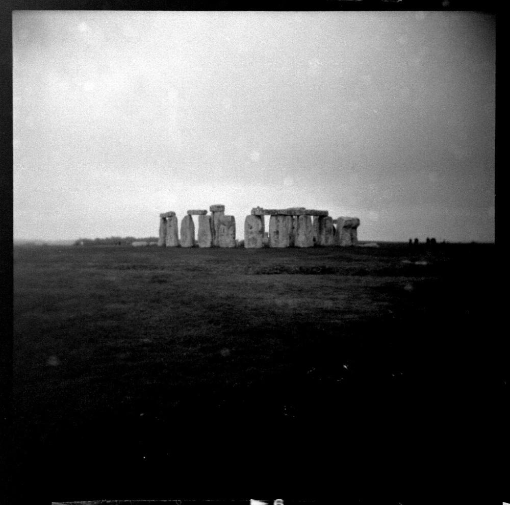 Stonehenge by Holga