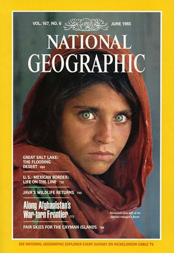 AfghanGirl. Steve McCurry