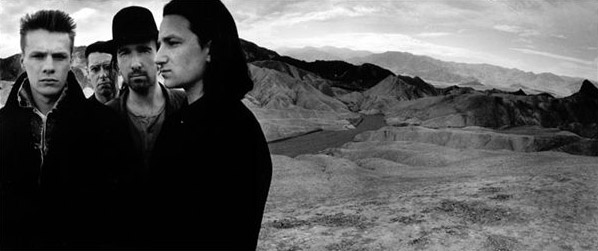 Joshua Tree, U2.  Photo by Anton Corbijn