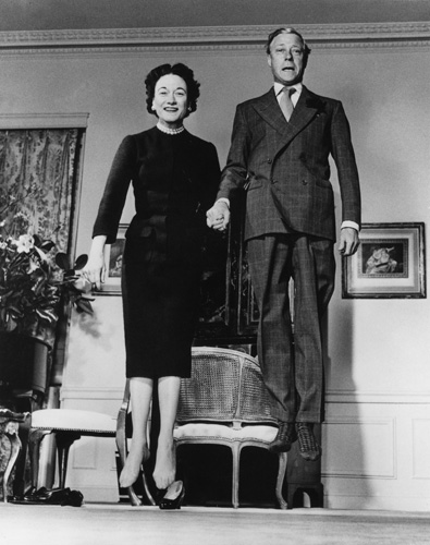 Duke and Dutches of Windsor.  Photo by Philippe Halsman, http://philippehalsman.com/