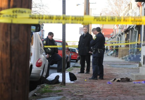 Shooting at West Greenwich and Tulpehocken Streets