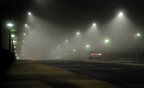 Fog Late night IMAGE