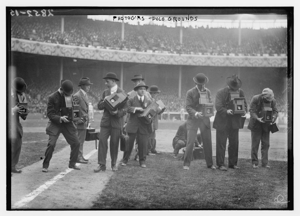Photographers - Polo Grounds(1914)